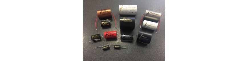 Capacitors Polyprop - Polyest - Oil - Mica- Bipolar
