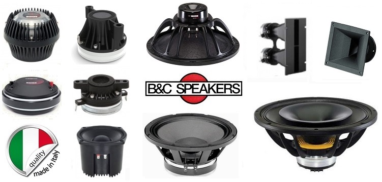 B&C speakers audiokit