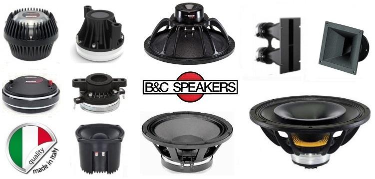 B&C speakers audiokit