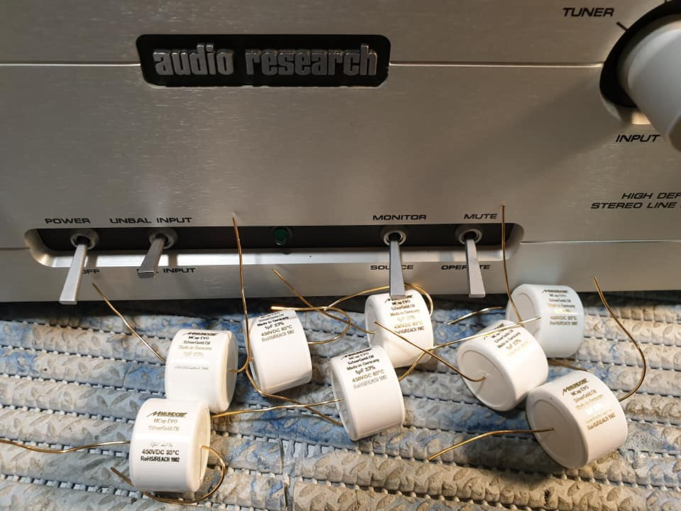 audio research ls22 upgrde