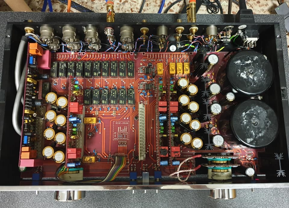 burmester preamp upgrade