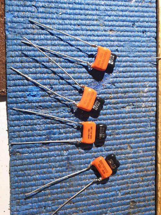 upgrade condensatori riaa