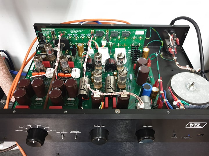 vtl tl 2.5 upgrade condensatori