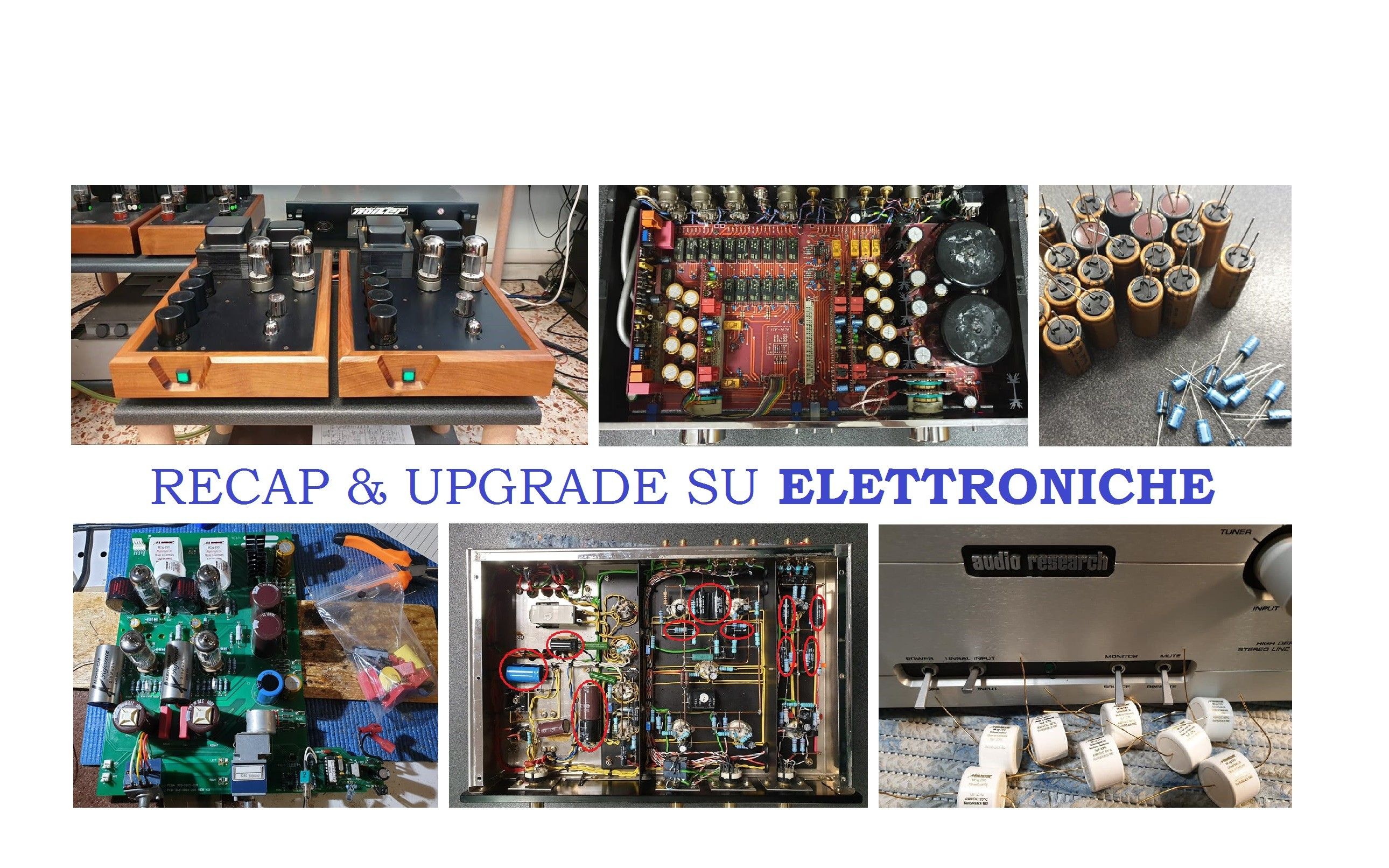 upgrade elettroniche hifi