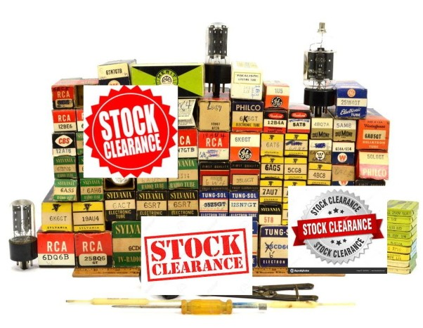 Stock Clearance tubes