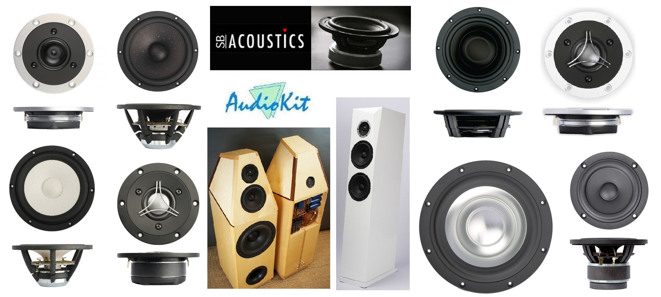 sb acoustic audiokit speakers